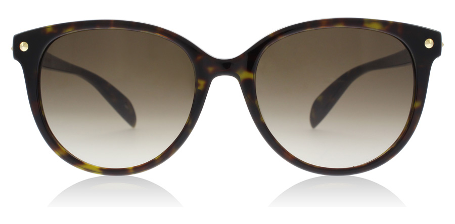 Alexander McQueen AM0072S Havana 002 54mm
