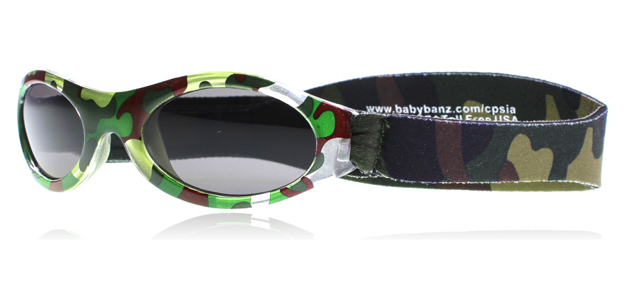 Baby Banz Adventure 0-2 Years Groen Camouflage 45mm
