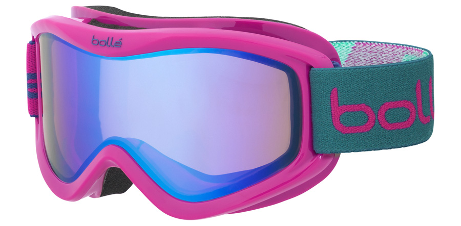 Bolle Junior Volt Plus Age 6+ years 21590 Roze Blokken 160mm