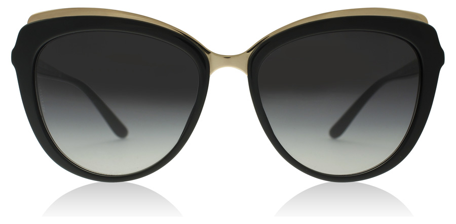 Dolce and Gabbana DG4304 Zwart 501/8G 57mm