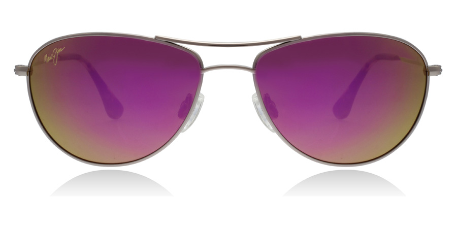 Maui Jim Baby Beach P245-16R Roze Goud Rose Gold 56mm Gepolariseerd