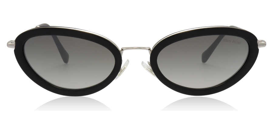 Miu Miu MU58US Black 1AB5O0 54mm