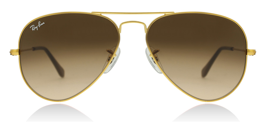 Ray-Ban RB3025 Glanzend Licht Brons 9001A5 58mm