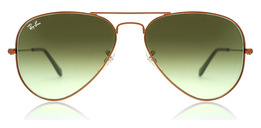 Ray-Ban RB3025 Glanzend Medium Brons 9002A6 55mm