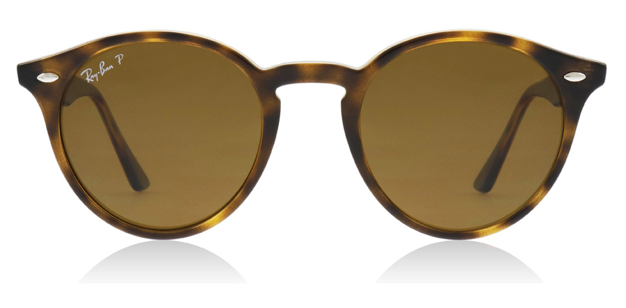 Ray-Ban Turtledove RB2180 Glanzend Donker Havana 710/83 49mm Gepolariseerd