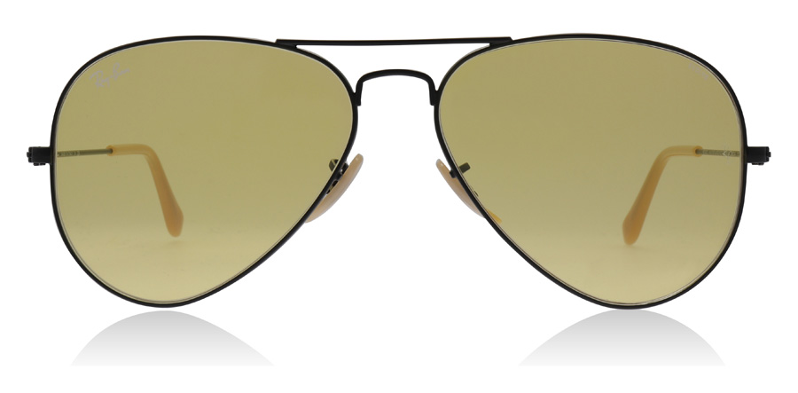 Ray-Ban Aviator RB3025 Black 90664A 58mm