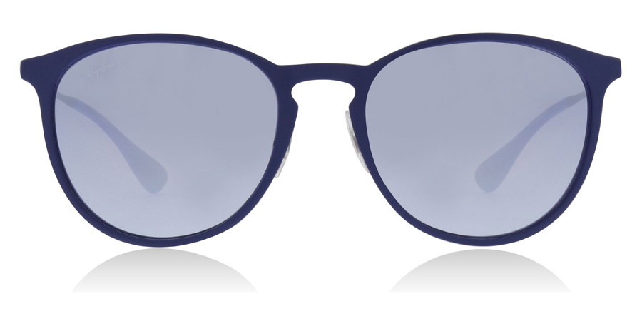 Ray-Ban RB3539 Rubber Electric Blauw 90221U 54mm
