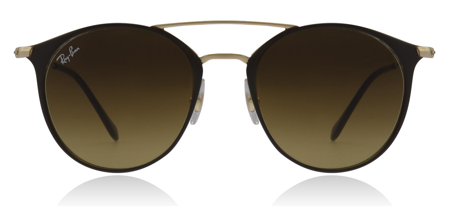 Ray-Ban RB3546 Goud Top Bruin 900985 49mm