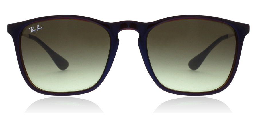 Ray-Ban RB4187 4187 Chris Doorschijnend Bruin 6315E8 54mm
