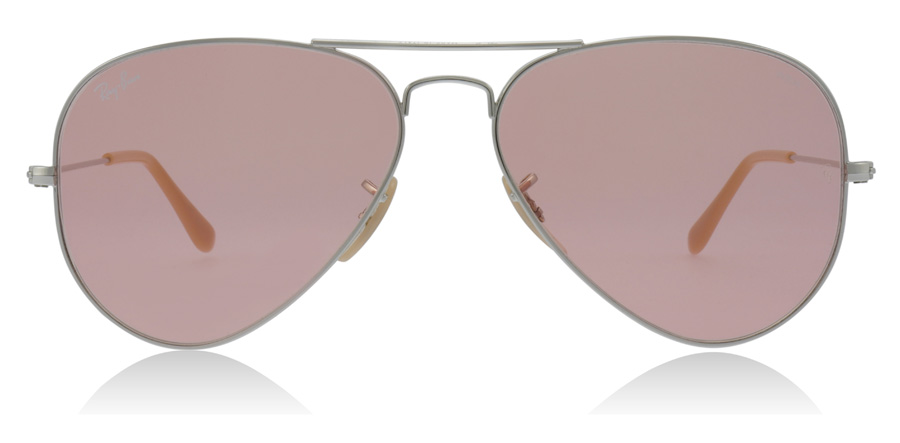 Ray-Ban Aviator RB3025 Zilver 9065V7 58mm