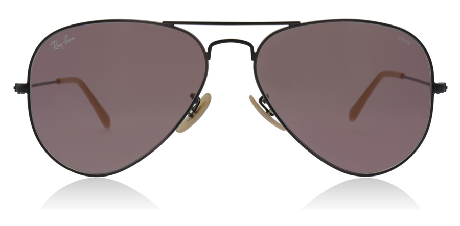 Ray-Ban Aviator RB3025 Zwart 9066Z0 58mm