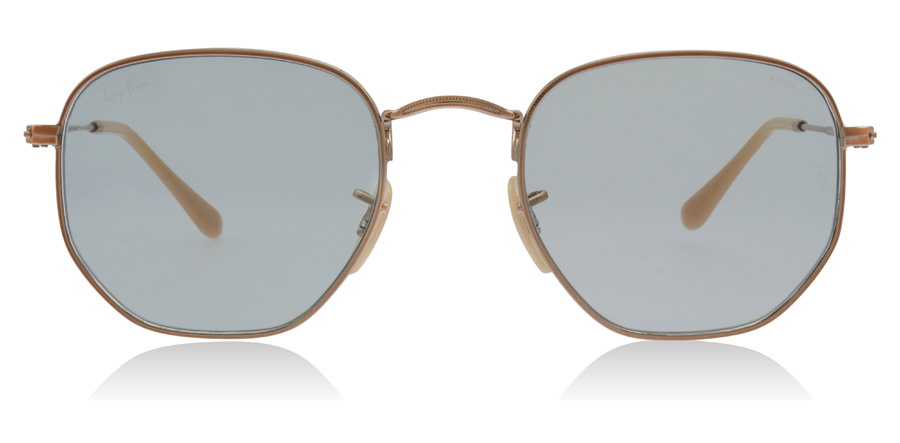 Ray-Ban RB3548N Hexagonal Koper / Groen 91310Y 51mm