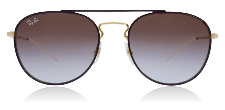 Ray-Ban RB3589 Goud / Paars 9059I8 55mm