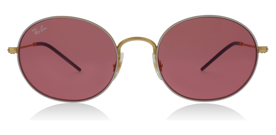 Ray-Ban RB3594 Goud / Wit 9093C8 53mm