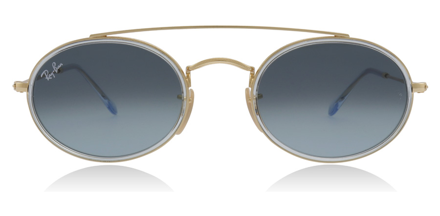 Ray-Ban RB3847N Goud 91233M 52mm