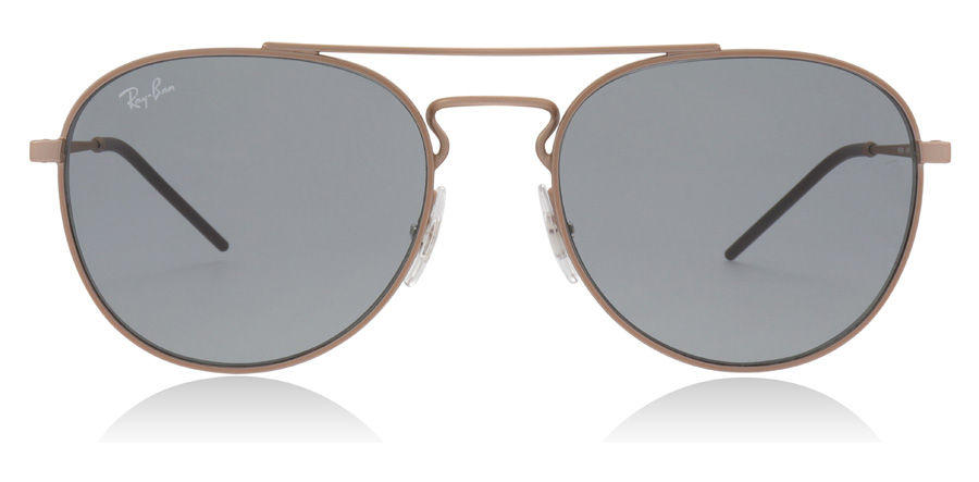 Ray-Ban RB3589 Rubber Copper 9146/1 55mm