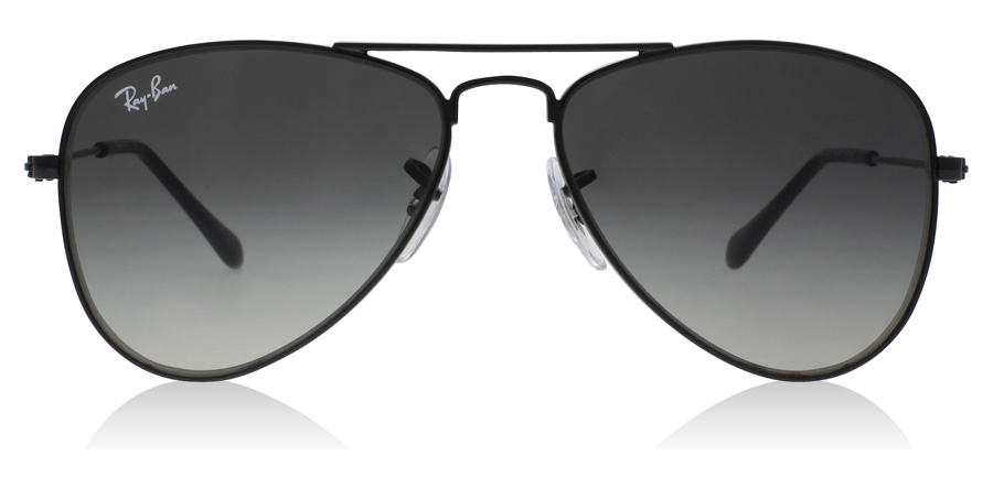 Ray-Ban Junior RJ9506S Age 4-8 Years Glanzend Zwart 220/11 50mm