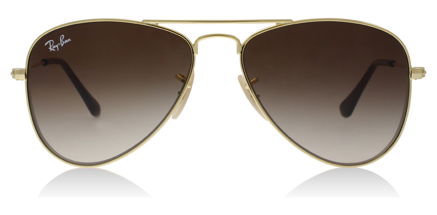 Ray-Ban Junior RJ9506S Age 4-8 Years Goud 223/13 50mm