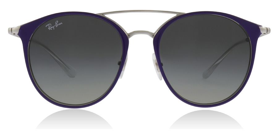 Ray-Ban Junior RJ9545S Zilver / Paars 272/11 47mm