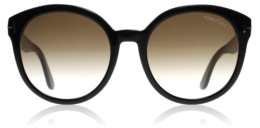 Tom Ford Phillipa FT0503 Glanzend Zwart 01G 55mm