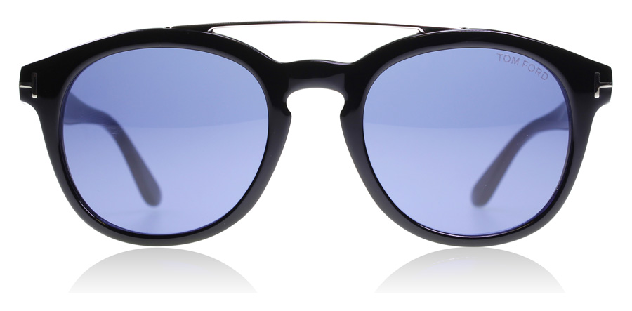 Tom Ford Newman FT0515 Glanzend zwart 01V 53mm
