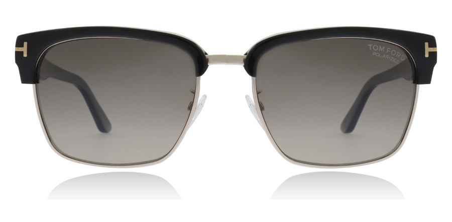 Tom Ford River - Black TF367 01D 57mm Gepolariseerd