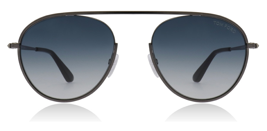 Tom Ford FT0599 Keith Shiny Gumetal 08W 55mm