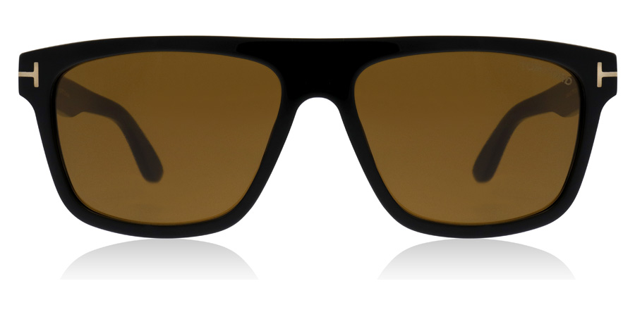 Tom Ford Cecilio FT0628 Glanzend zwart 01E 57mm