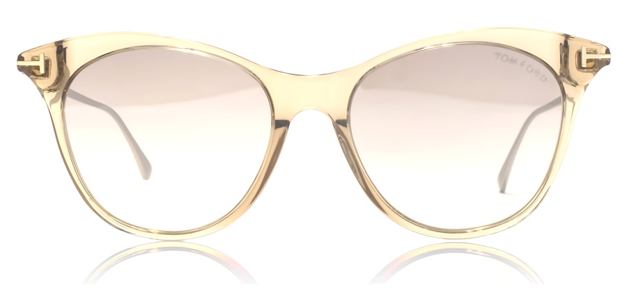 Tom Ford FT0662 Micaela Shiny Light Brown 45G 53mm