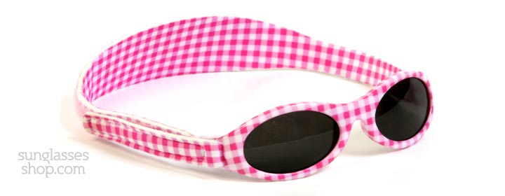 Baby Banz Adventure 0-2 Years Roze Gingham 45mm