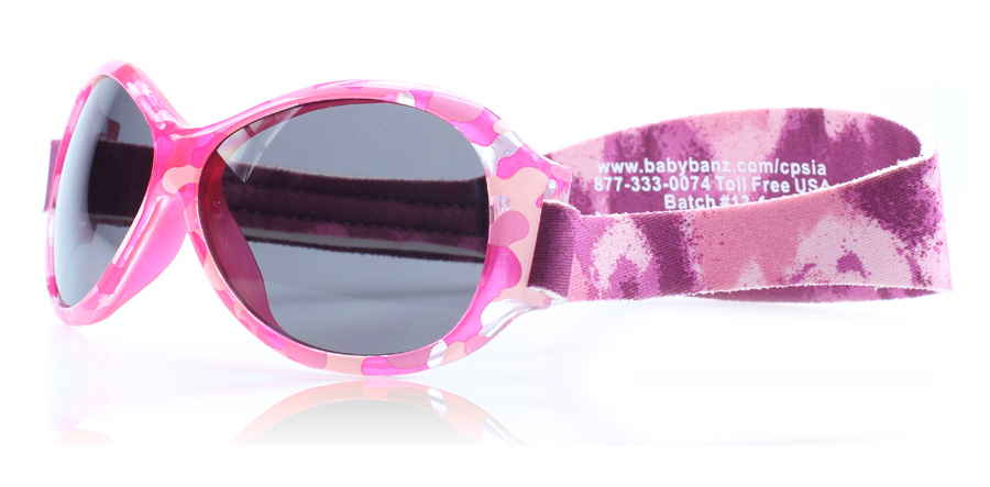 Baby Banz Adventure 0-2 Years Roze Diva PD 55mm