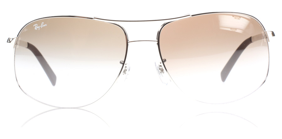 Ray-Ban RB3387 3387 Zilver 003/68 64mm
