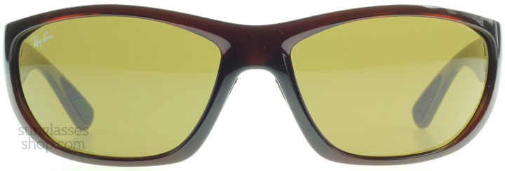 Ray-Ban RB4188 4188 Glimmend Bruin 600773 64