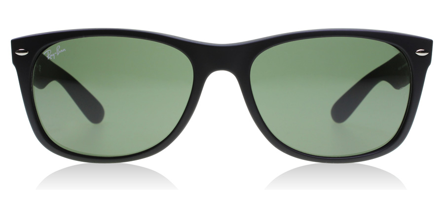 Ray-Ban RB2132 New Wayfarer Mat Zwart 622 55mm
