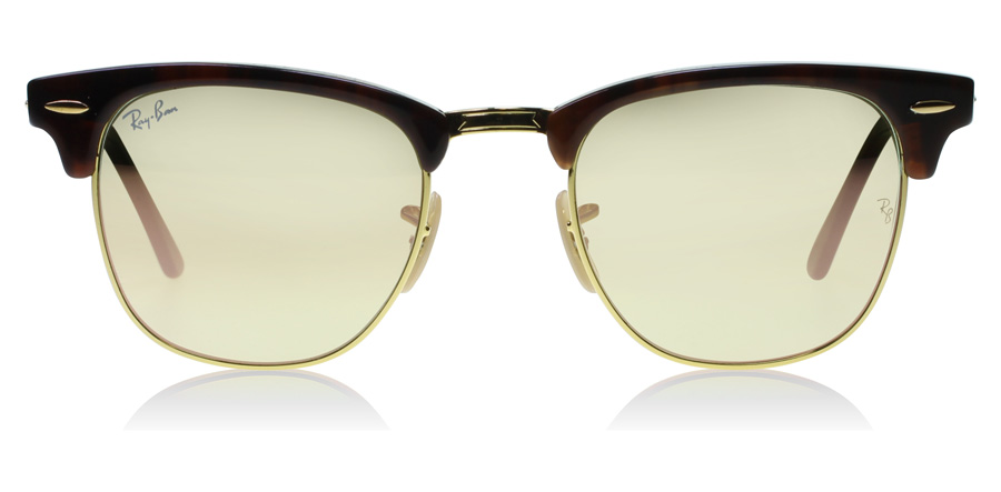 Ray-Ban RB3016 Glanzend Rood / Havana 990-7O 49mm