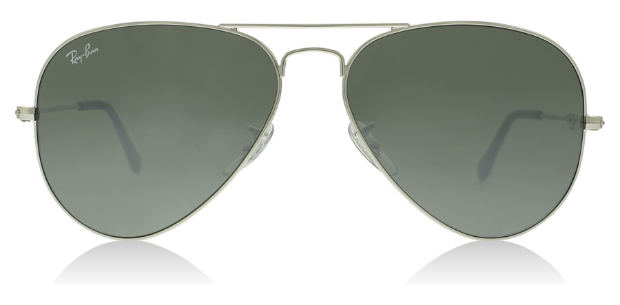 Ray-Ban RB3025 Zilver Spiegel W3277 58mm