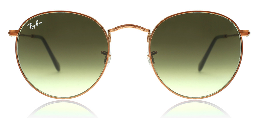 Ray-Ban RB3447 Glanzend Medium Brons 9002A6 53mm