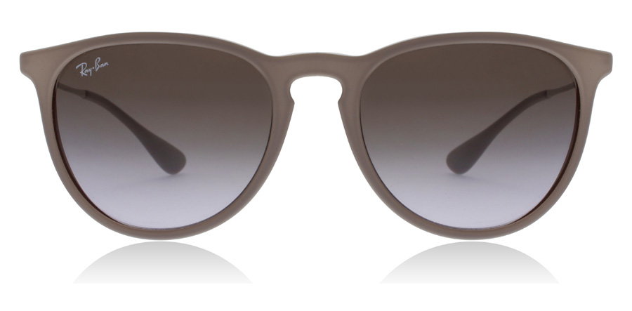 Ray-Ban Erika RB4171 Donker Rubber 600068 54mm