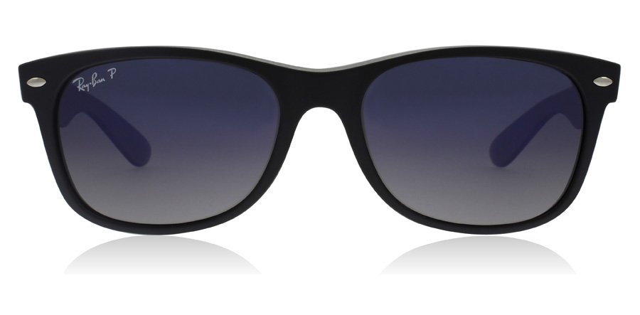Ray-Ban RB2132 New Wayfarer Zwart 601S78 55mm Gepolariseerd