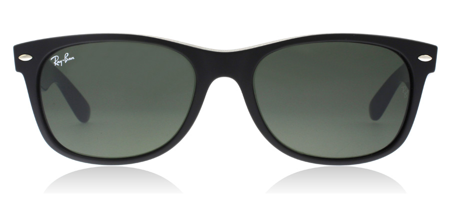 Ray-Ban RB2132 New Wayfarer Mat zwart 6182 52mm