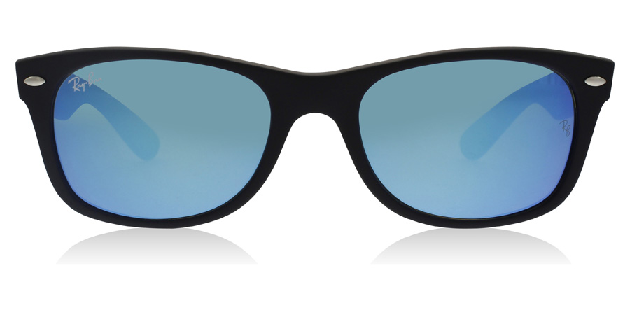 Ray-Ban RB2132 New Wayfarer Mat Zwart 62217 55mm