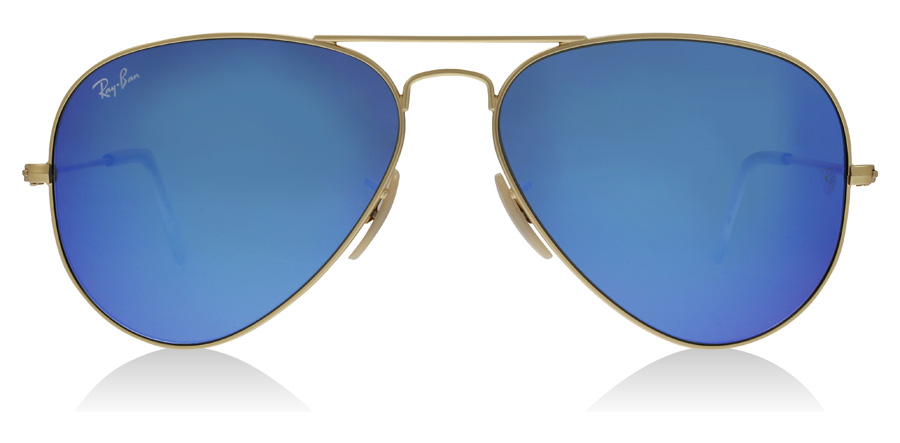 Ray-Ban Aviator RB3025 Mat Goud 112/17 58mm