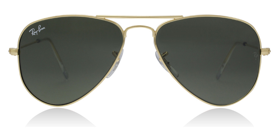 Ray-Ban Aviator RB3044 Goud L0207 52mm