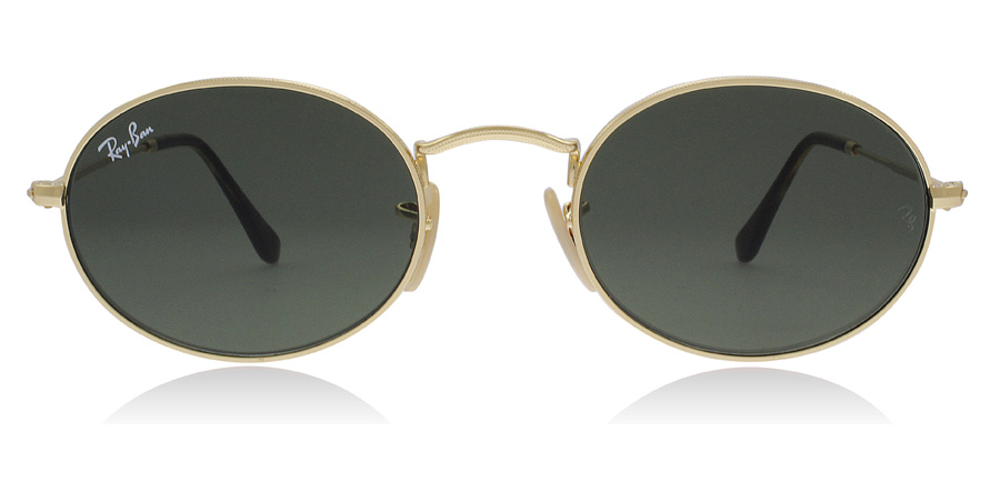 Ray-Ban Oval RB3547N Goud 001 48mm