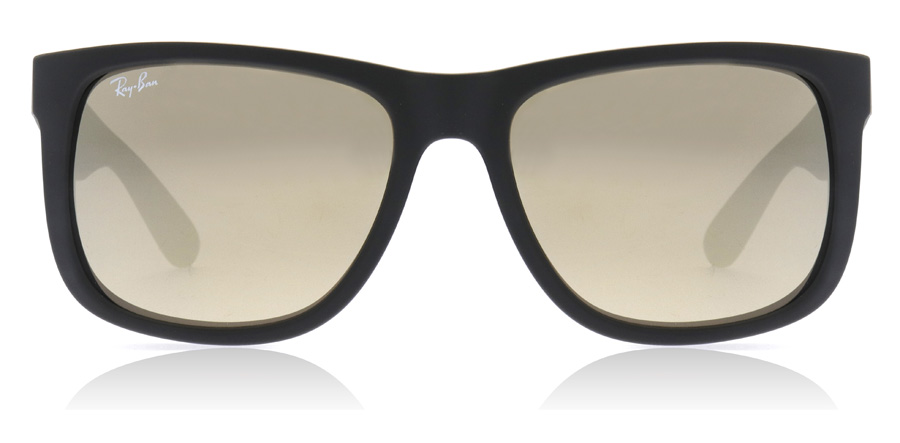 Ray-Ban Justin RB4165 Rubber Zwart 622/5A 55mm