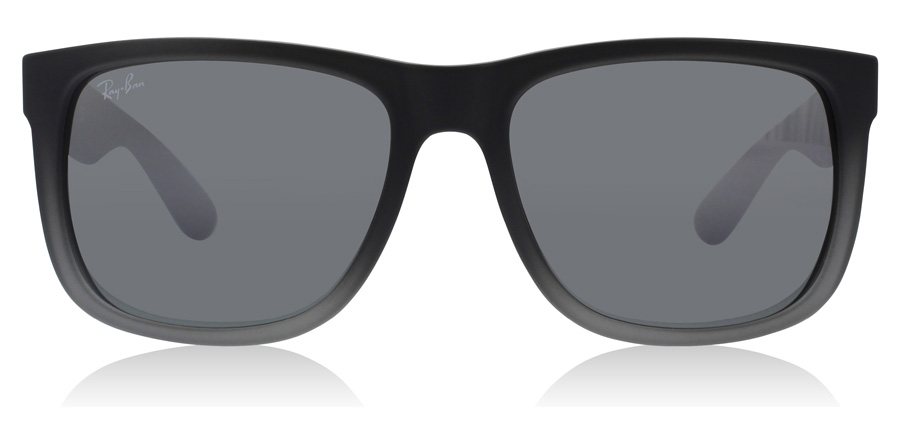 Ray-Ban Justin RB4165 Rubber Grijs en Doorzichtig 852/88 51mm
