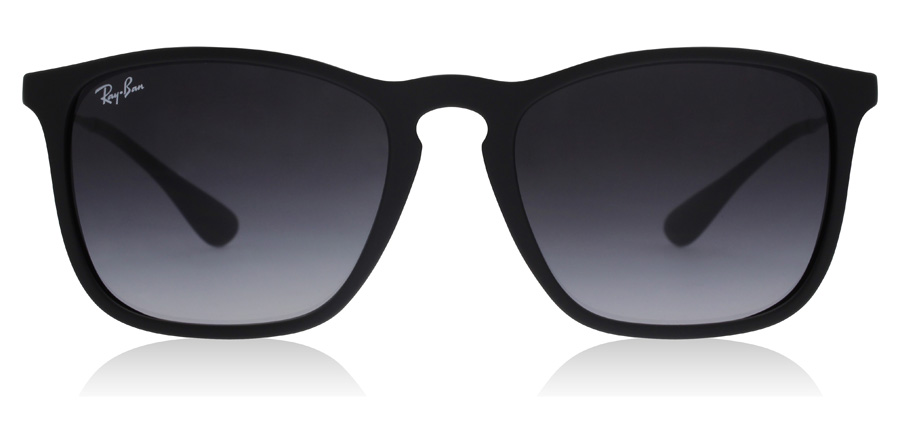 Ray-Ban RB4187 4187 Chris Mat Zwart 622/8G 54mm