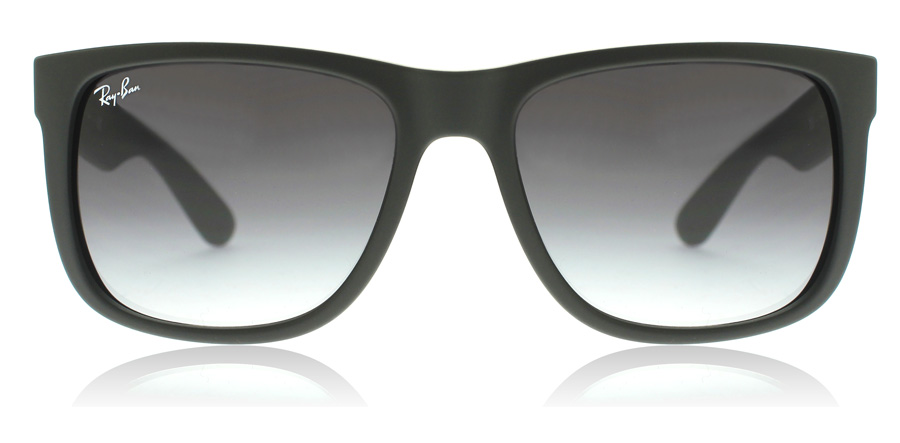 Ray-Ban Justin RB4165 Zwart Rubber 601/8G 51mm