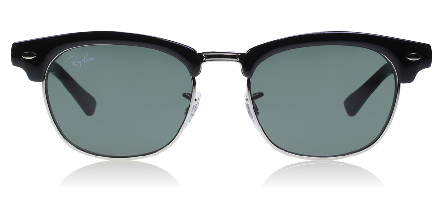 Ray-Ban Junior RJ9050S Age 4-8 Years Zwart - Zilver 100/71 45mm