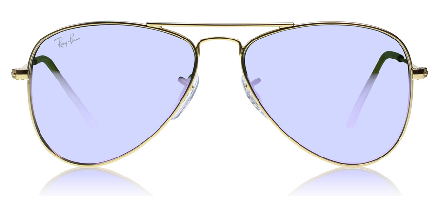 Ray-Ban Junior RJ9506S Age 4-8 Years Mat Goud 249-4V 50mm